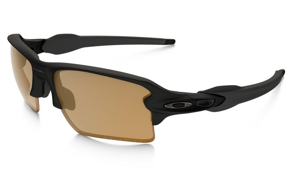 Oakley Radsportbrille »Polarized Flak 2.0 XL Brille« in schwarz