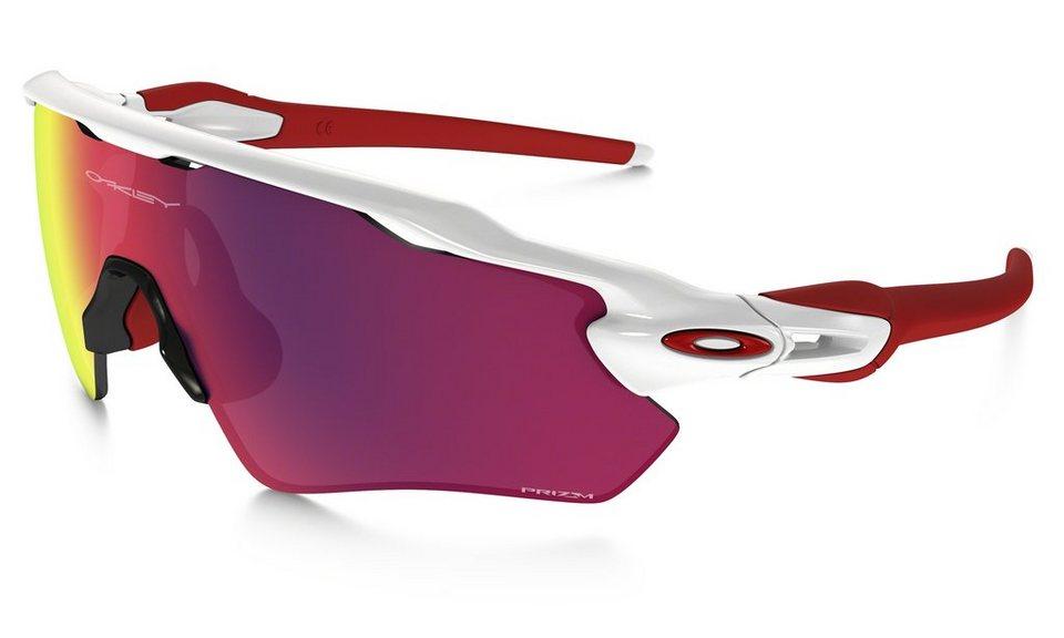 Oakley Radsportbrille »Prizm Radar EV Path Brille« in weiß