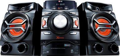 LG »CM4350« Stereoanlage (Bluetooth, FM-Tuner mit RDS, 260 W, Auto DJ: Sorgt für Musik ohne Pausen bei gleichbleibender Lautstärke)