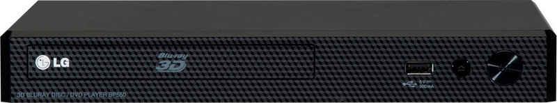 LG »BP450« Blu-ray-Player (LAN (Ethernet), 3D-fähig, Full HD)