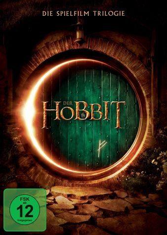 DVD »Der Hobbit - Die Spielfilm-Trilogie (3 Discs)«