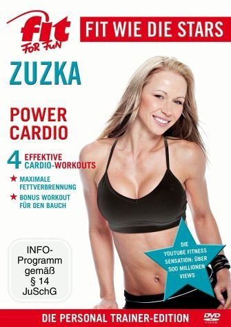 DVD »Fit for Fun - Fit wie die Stars: Zuzka - Power...«