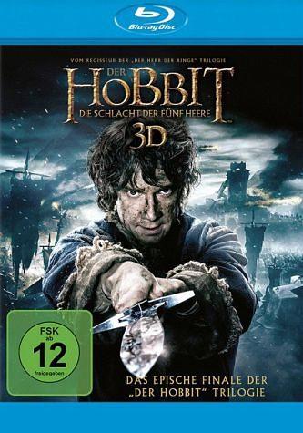 Blu-ray »Der Hobbit - Die Schlacht der Fünf Heere 3D«