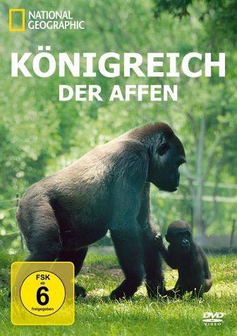 DVD »National Geographic - Königreich der Affen«