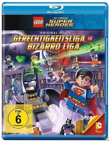 Blu-ray »Lego - Gerechtigkeitsliga vs. Bizarro Liga«