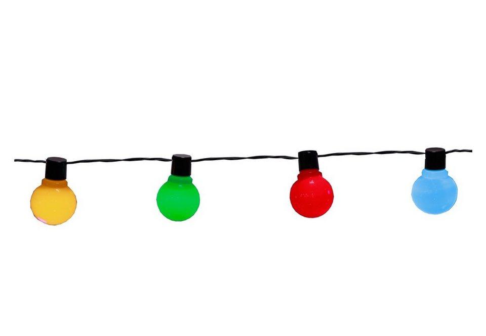 LED-Lichterkette (16-flg.) in bunt