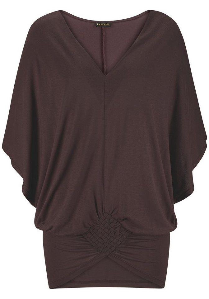 LASCANA Shirt in braun