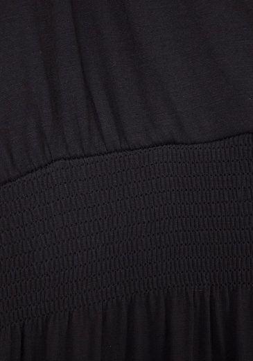 LASCANA Maxikleid mit verstellbarem Ausschnitt