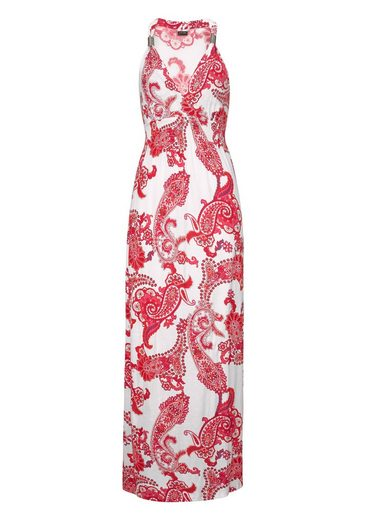 Lascana Maxi Dress With Adjustable Cutout