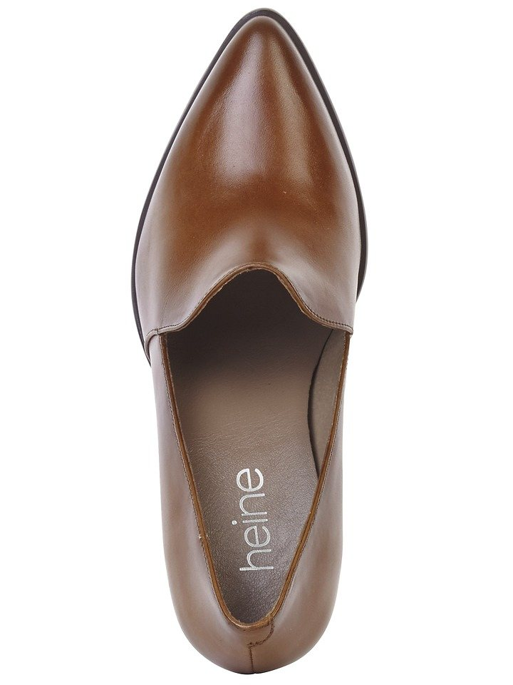 Heine Pumps in cognac