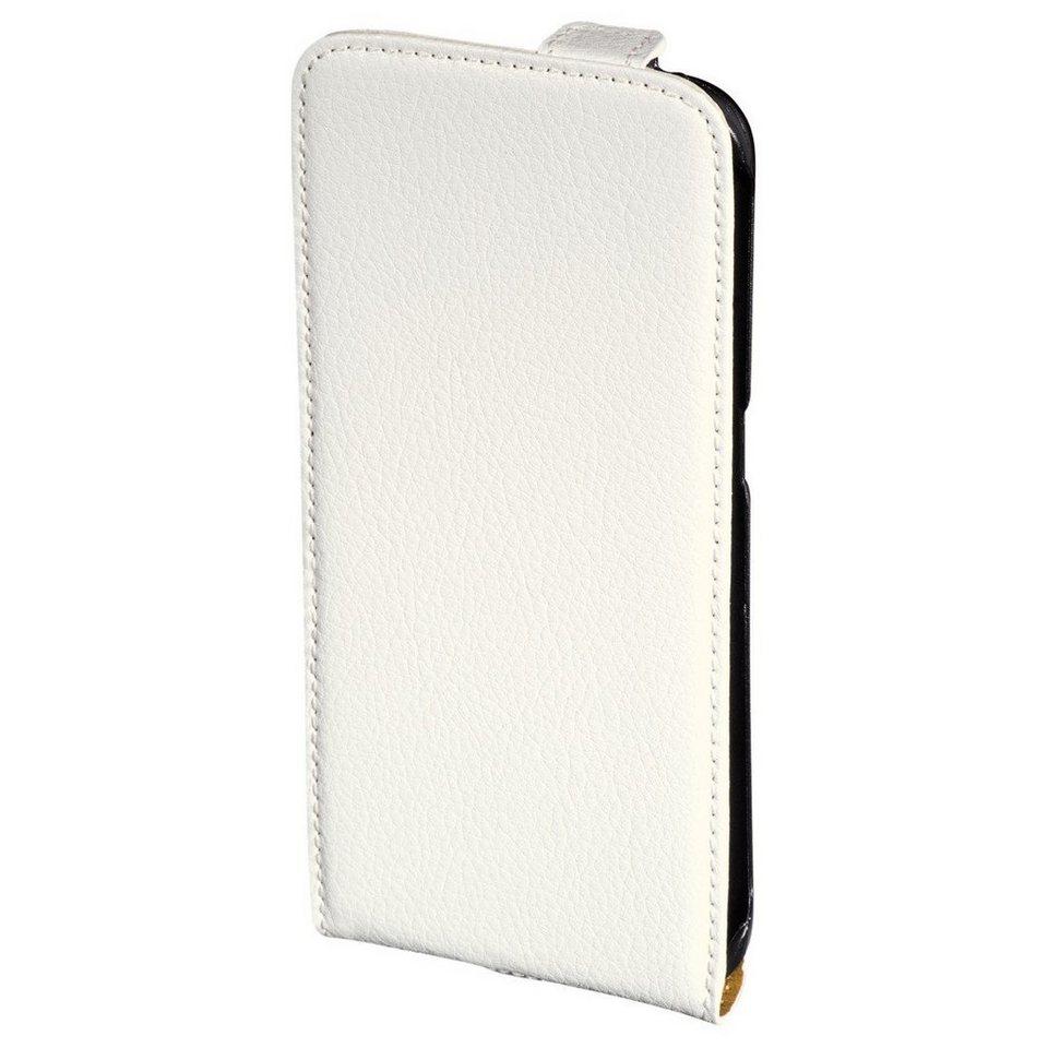 Hama Flap-Tasche Smart Case für Samsung Galaxy S6 Edge, Weiß in Weiß
