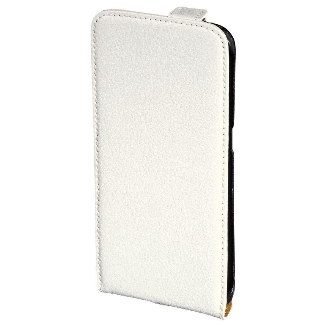 Hama Flap-Tasche Smart Case für Samsung Galaxy S6 Edge, Weiß
