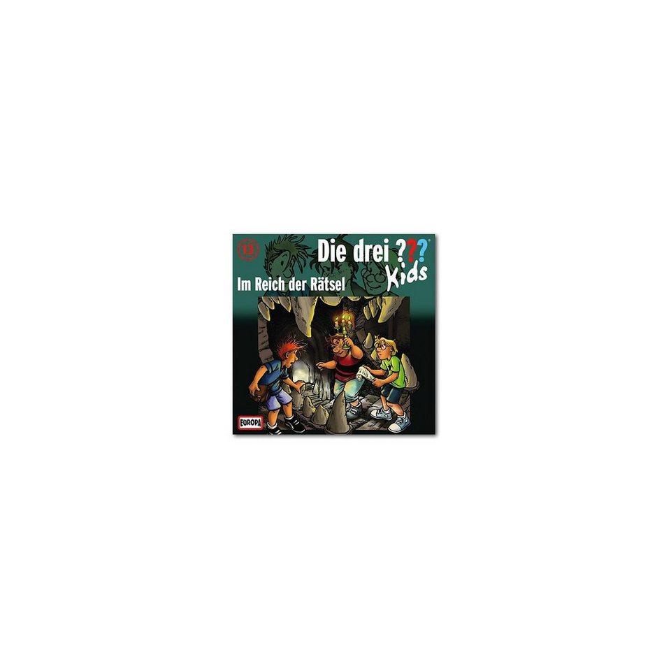 SONY BMG MUSIC CD Die drei ??? Kids 13 - Im Reich der Rätsel
