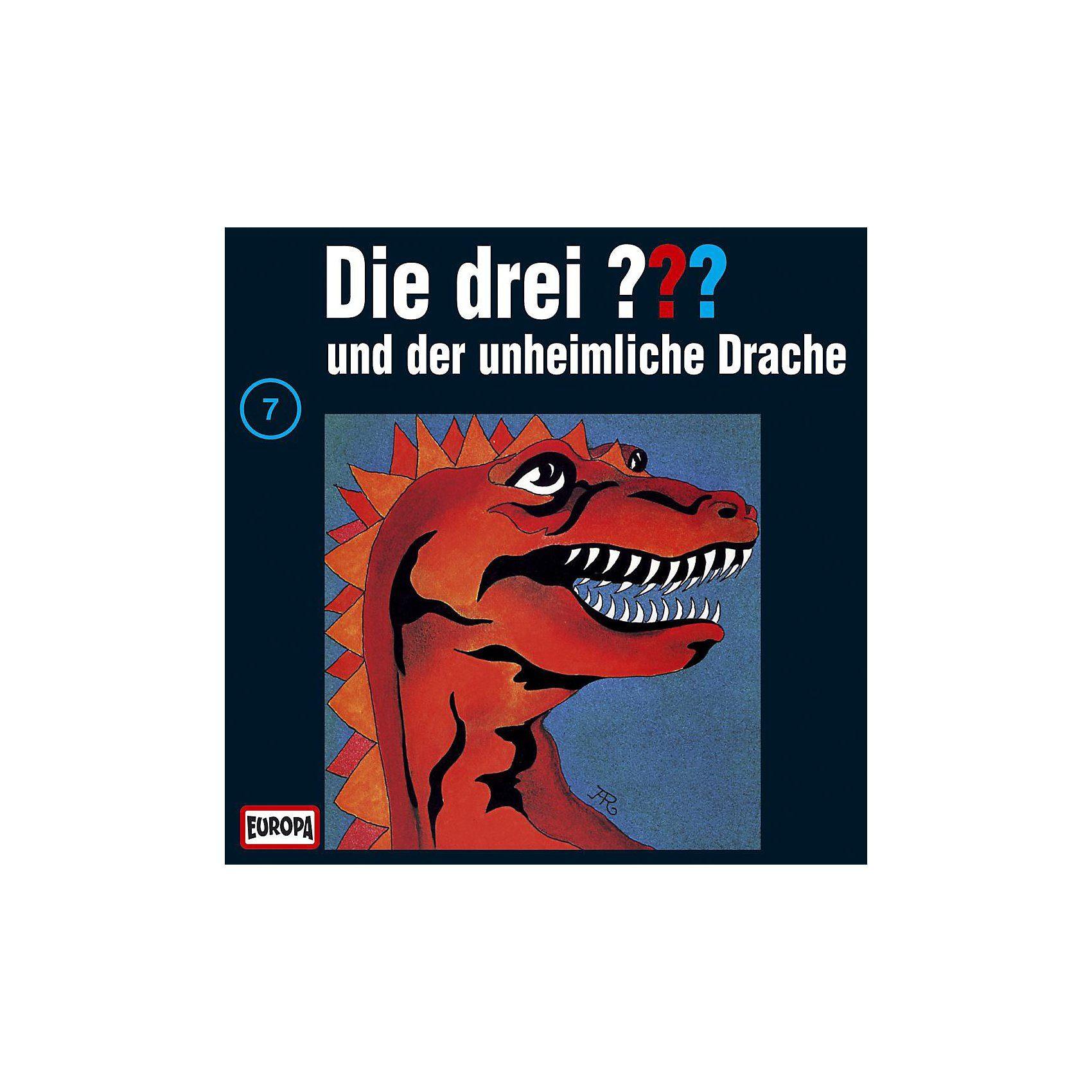 Sony CD Die drei ??? 007 (der unheinliche Drache)