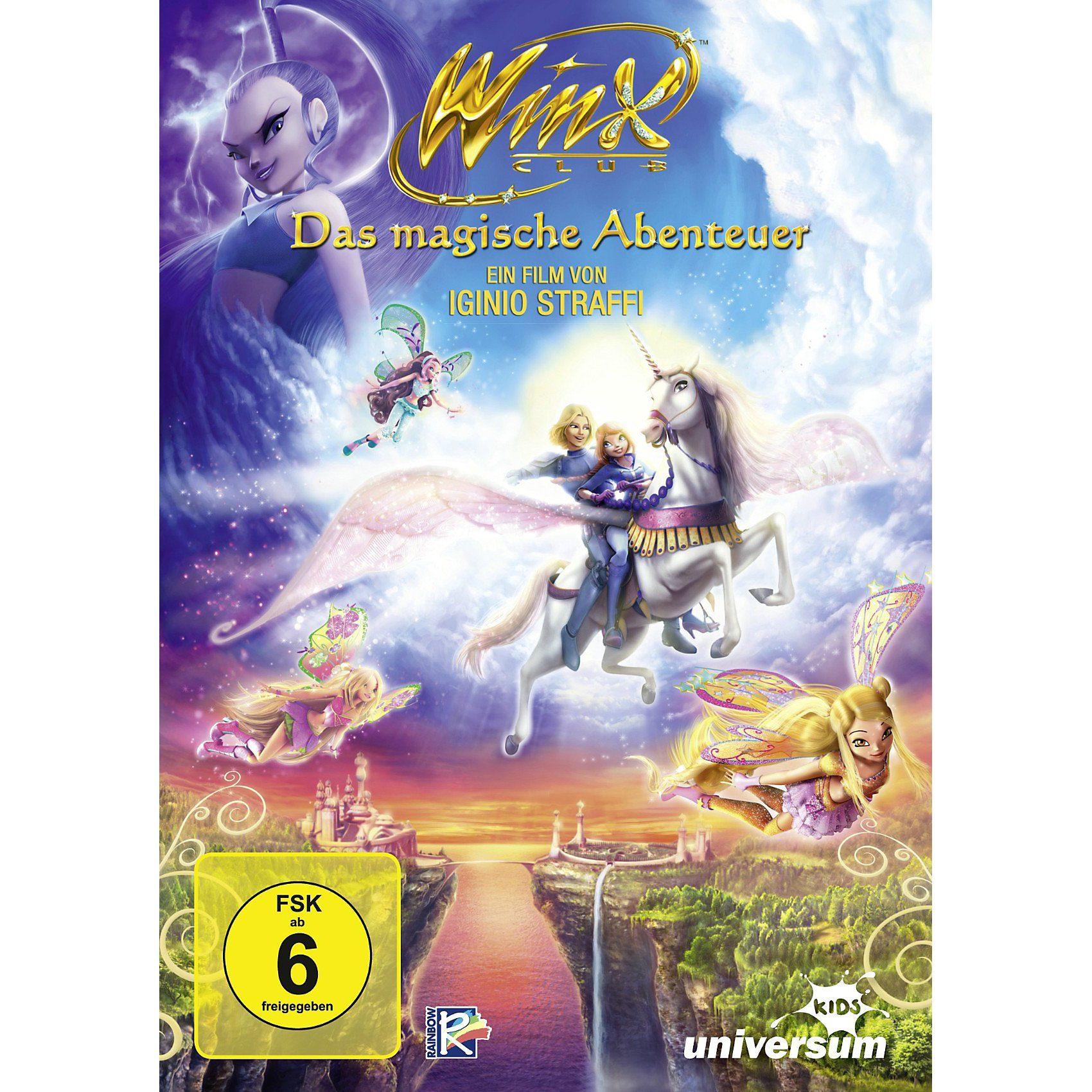 universum DVD Winx Club - Das magische Abenteuer