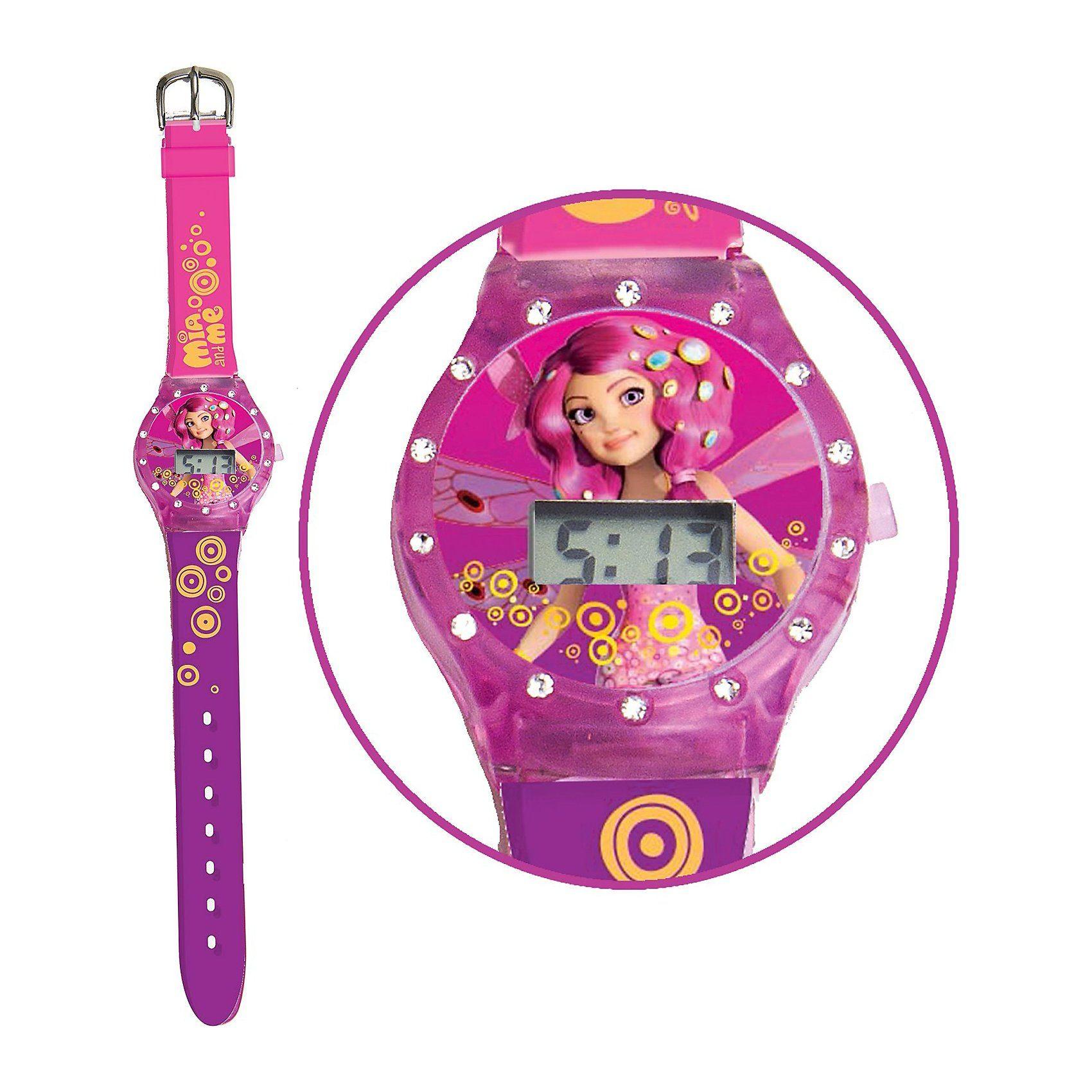 Joy Toy LCD Uhr mit Strass-Steinen Mia & Me