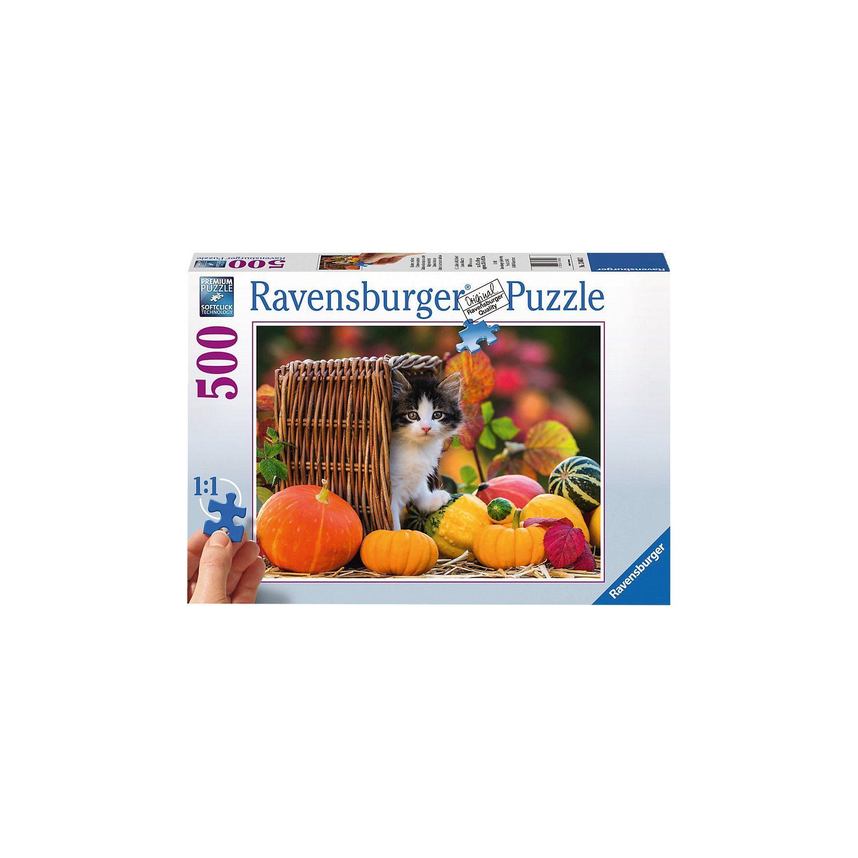 Ravensburger Kätzchen im Herbst 500 Teile