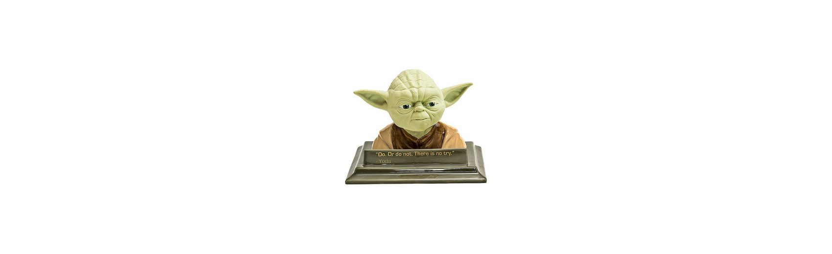 JOY TOY 3D-Büste Spardose Yoda Star Wars, Keramik