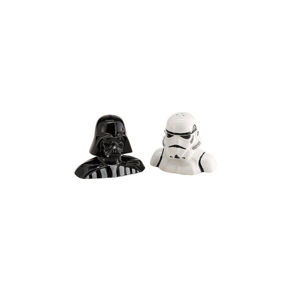 JOY TOY Salz- und Pfefferstreuer Darth Vader und Storm Trooper Star