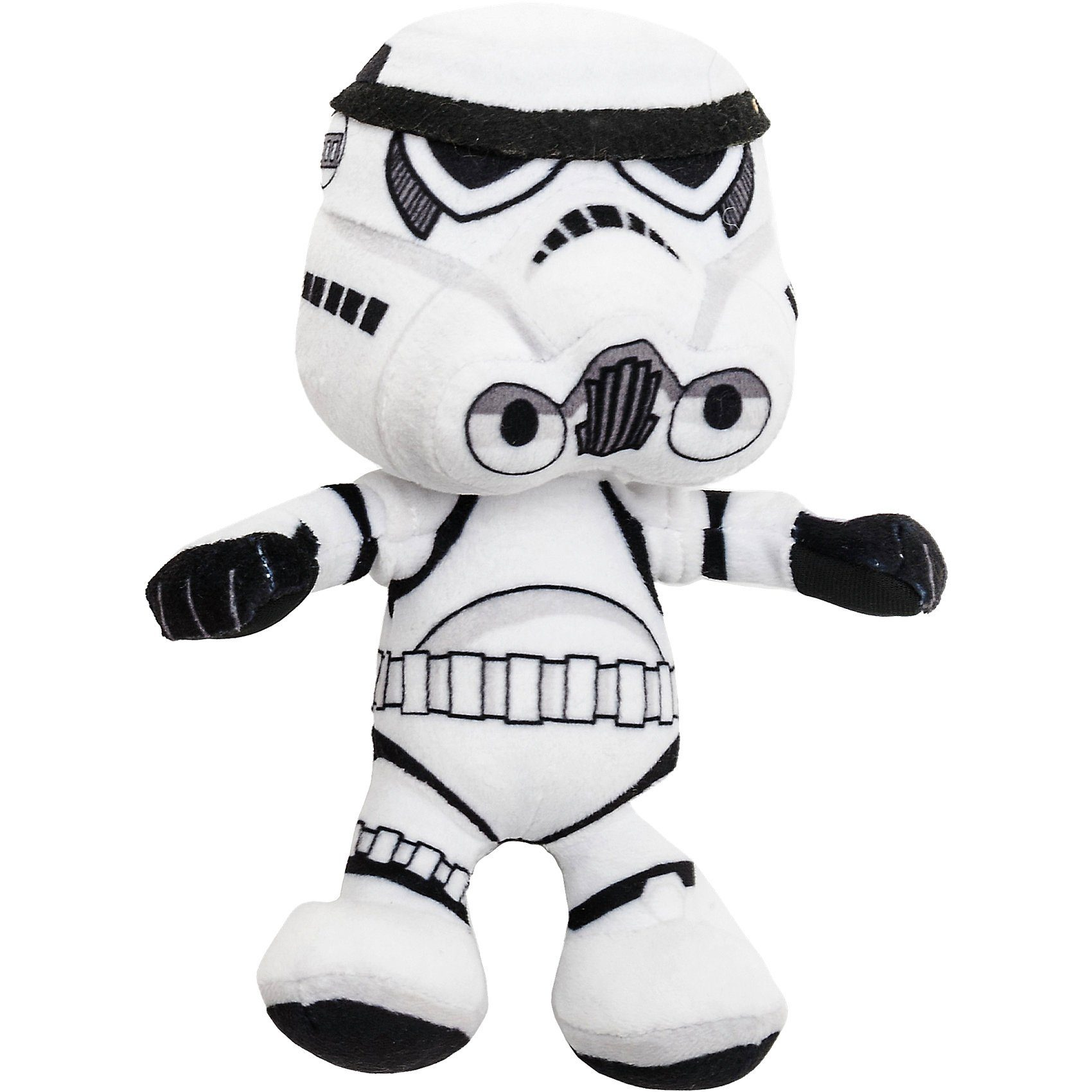 JOY TOY Velboa-Samtplüsch Storm Trooper Star Wars, 20 cm