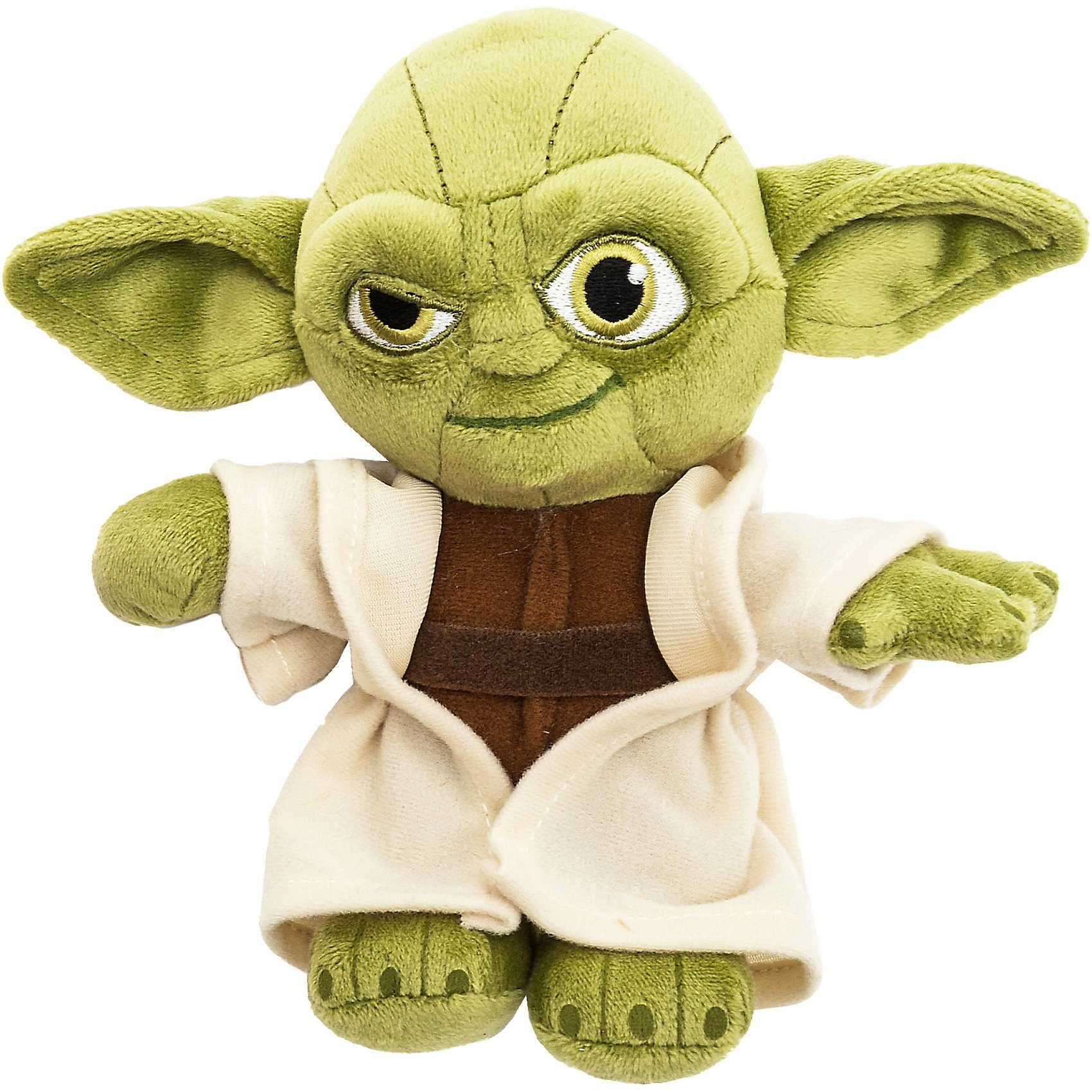 JOY TOY Velboa-Samtplüsch Yoda Star Wars, 20 cm