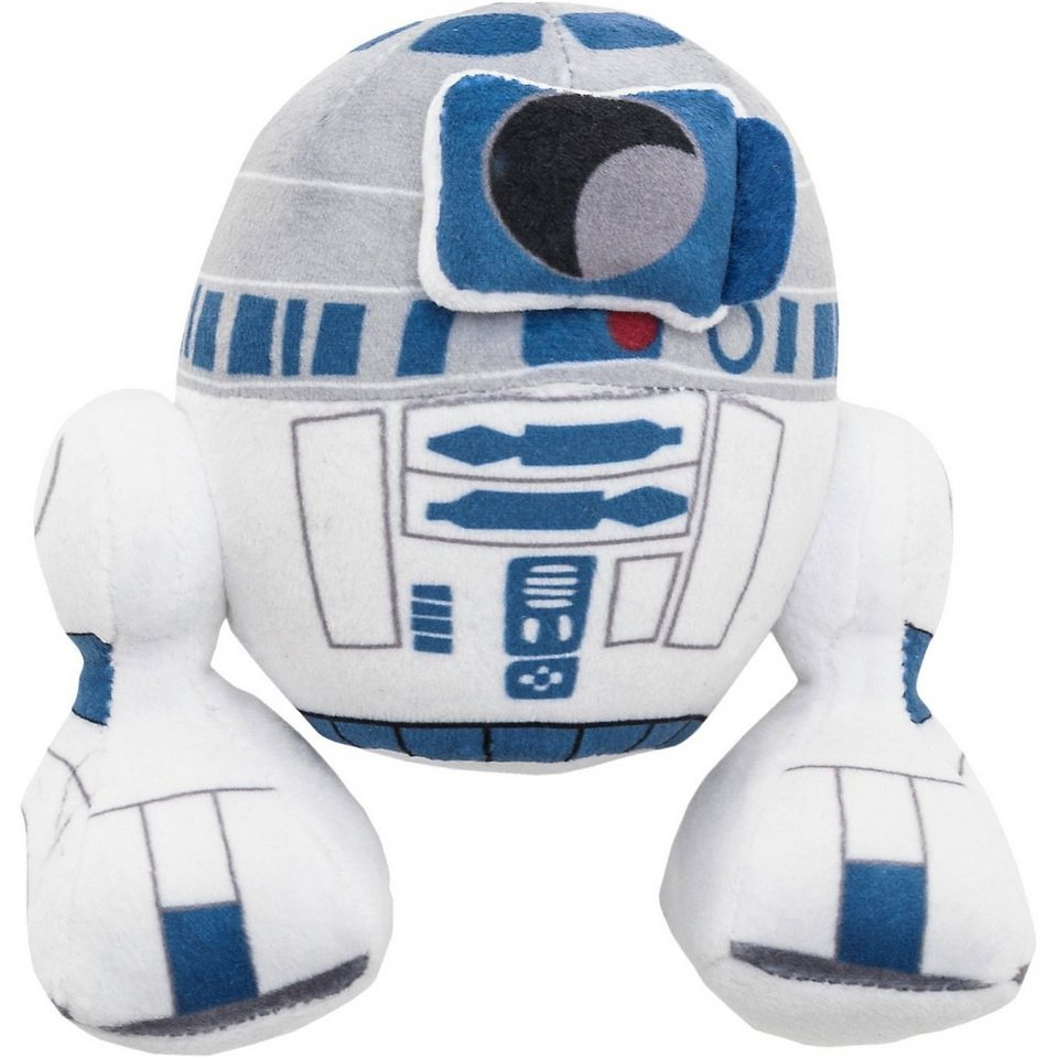 JOY TOY Velboa-Samtplüsch R2D2 Star Wars, 20 cm
