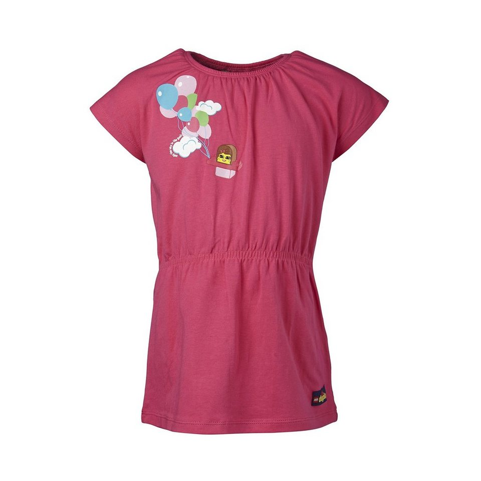 """LEGO Wear Duplo Jersey Kleid """"only the Sky is the Limit"""" Dress Daimi in pink"""