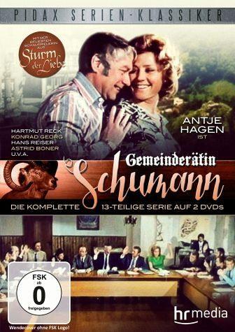 DVD »Gemeinderätin Schumann - Die komplette...«