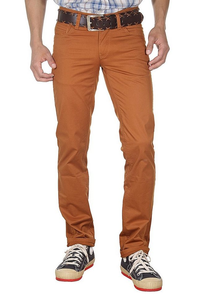 DIFFER 5-Pocket Hose regular fit in braun