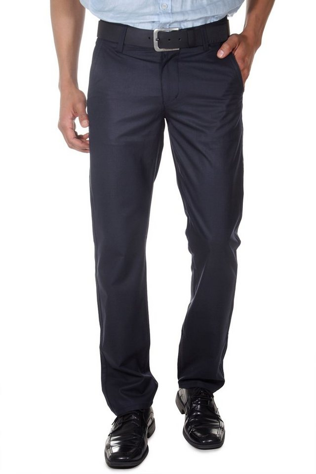 DIFFER Stoffhose regular fit in schwarz