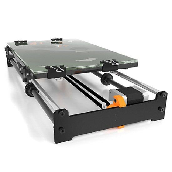 bq 3D Drucker Upgrade »Kit Large Bed für Prusa i3« in schwarz