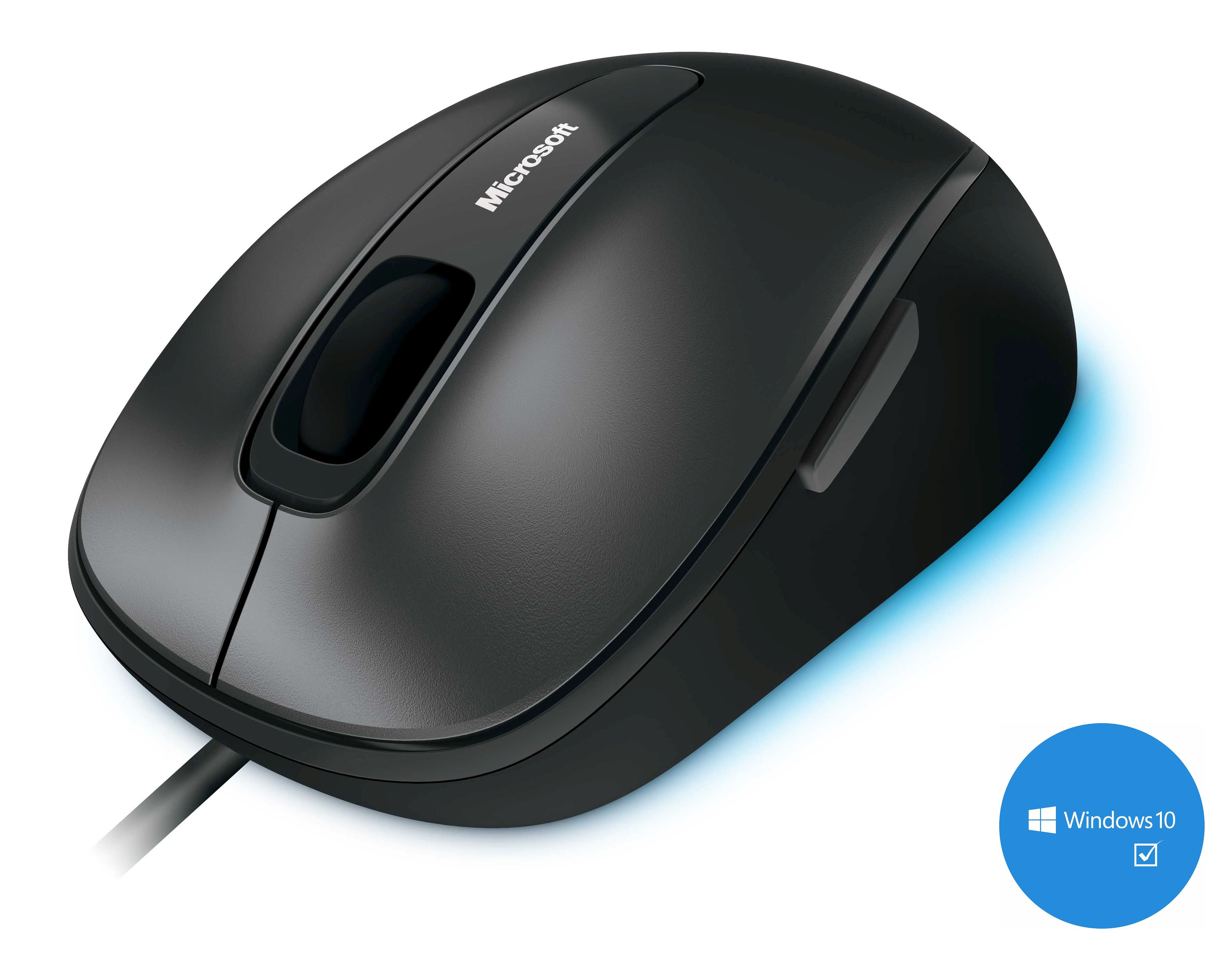 Microsoft Desktop Maus »Comfort Mouse 4500 USB black«