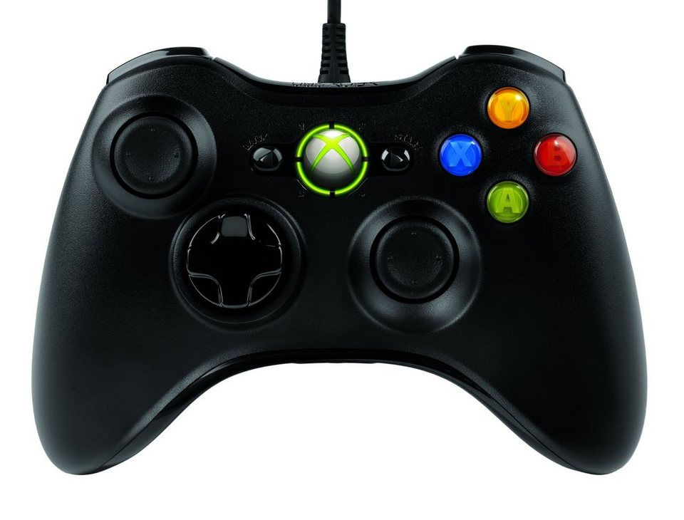 Microsoft Gaming »XBox 360 Common Controller (52A-00005)« in schwarz