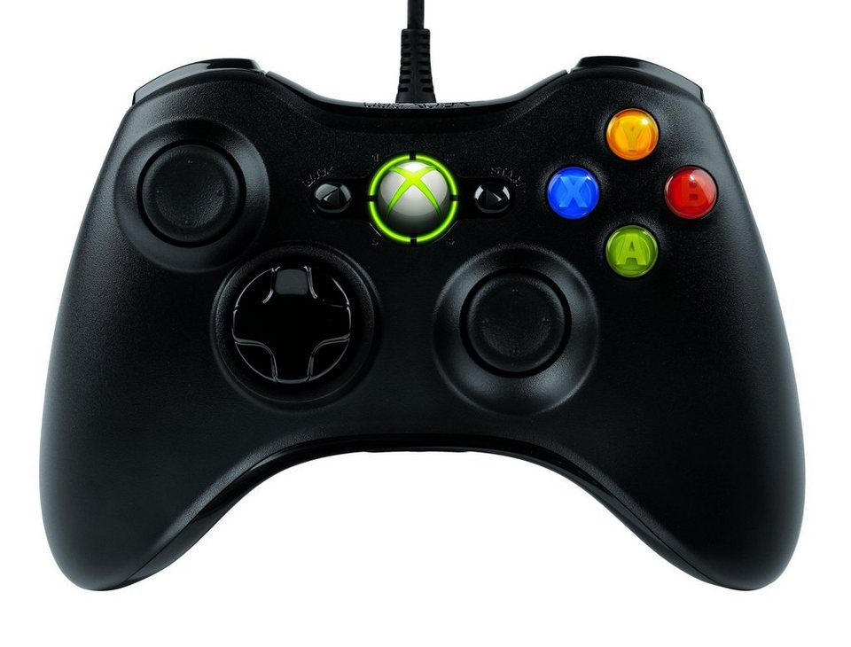Microsoft Gaming »XBox 360 Wireless Controller (JR9-00010)« in schwarz