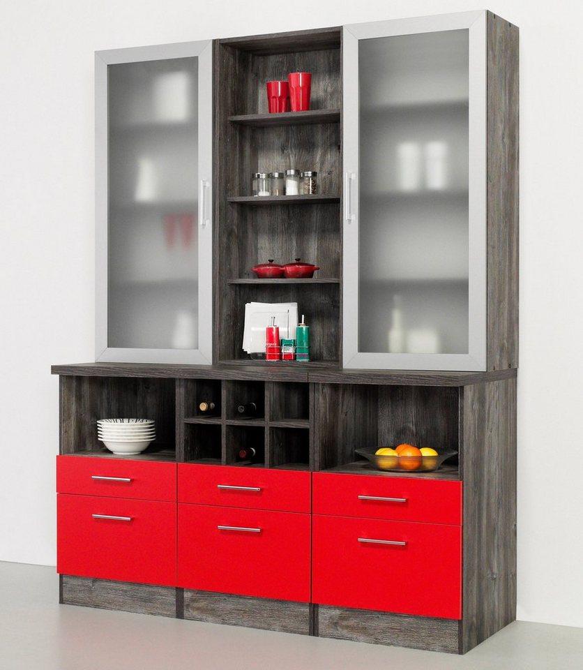 held m bel buffet sevilla in 3 farben breite 150 cm online kaufen otto. Black Bedroom Furniture Sets. Home Design Ideas