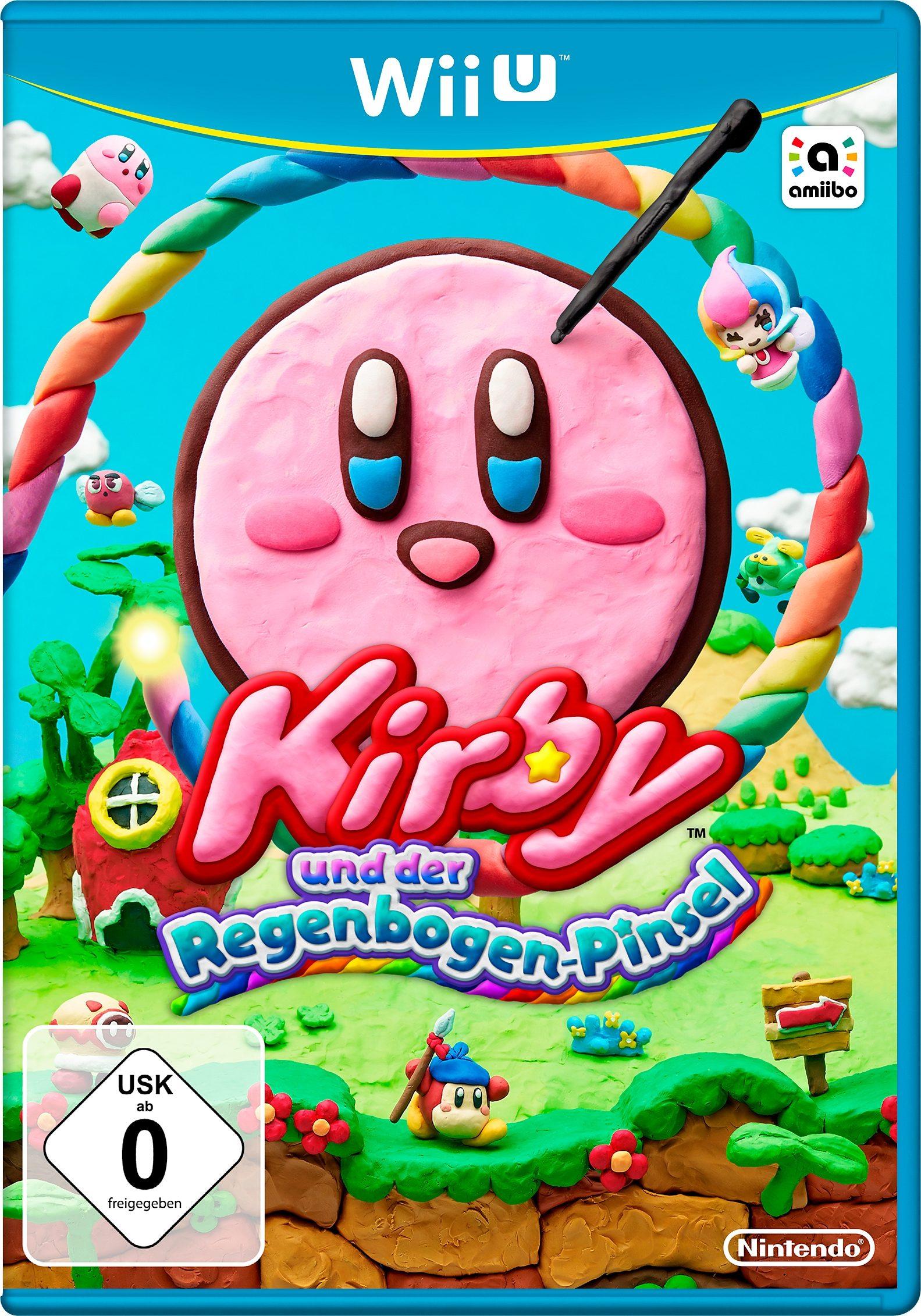 Kirby und der Regenbogen-Pinsel Nintendo Wii U