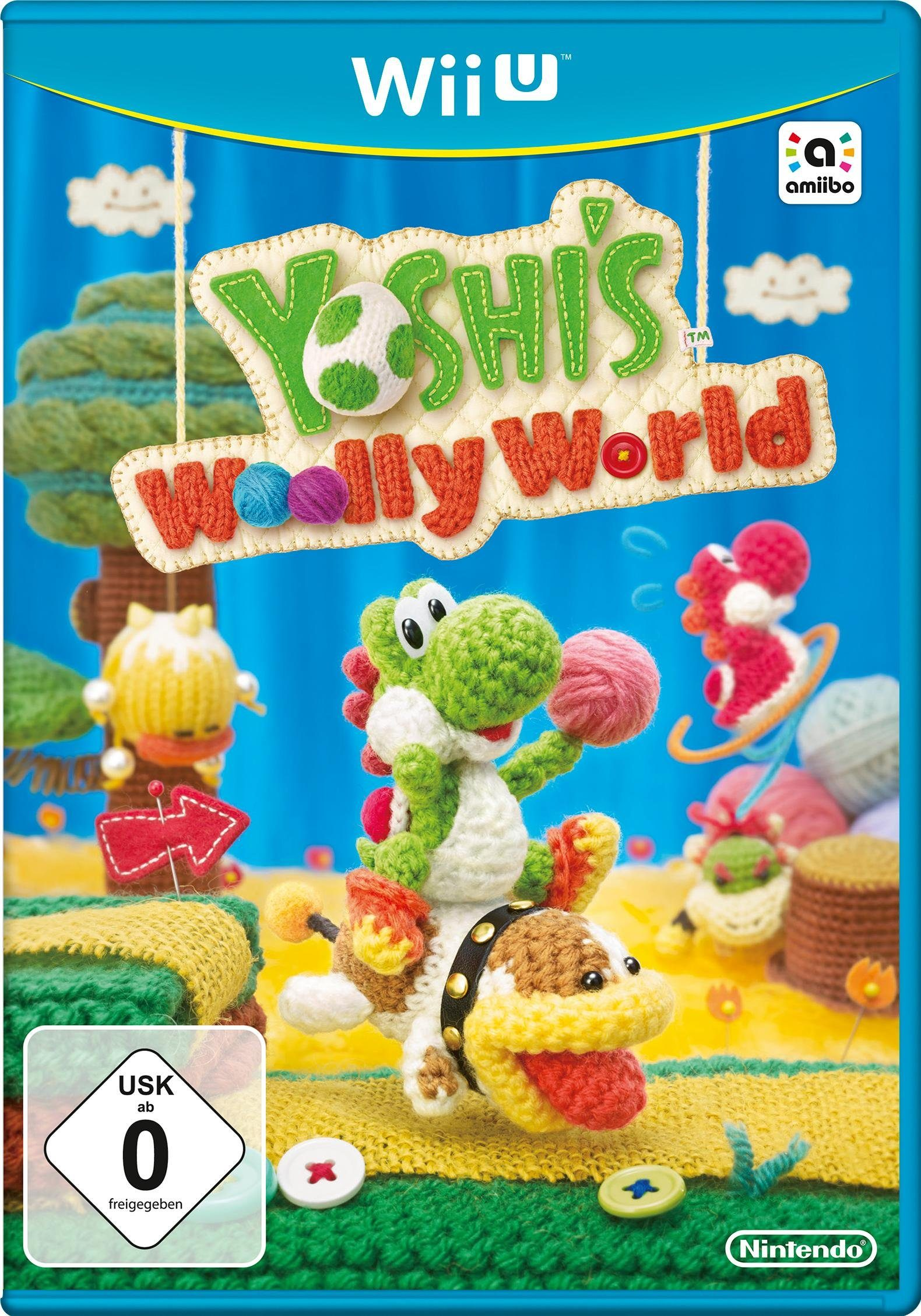 Yoshi's Wolly World Nintendo Wii U
