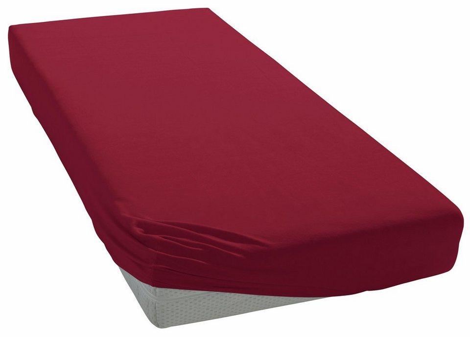 spannbettlaken heike zwirn jersey f r boxspringbetten online kaufen otto. Black Bedroom Furniture Sets. Home Design Ideas