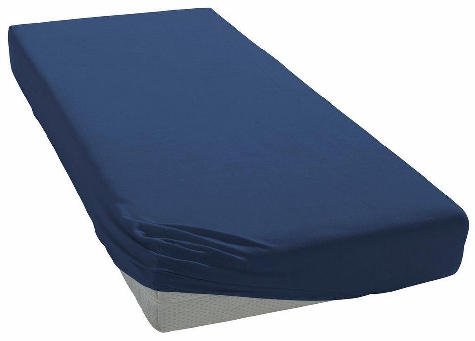 spannbettlaken zwirn jersey heike f r boxspringbetten online kaufen otto. Black Bedroom Furniture Sets. Home Design Ideas