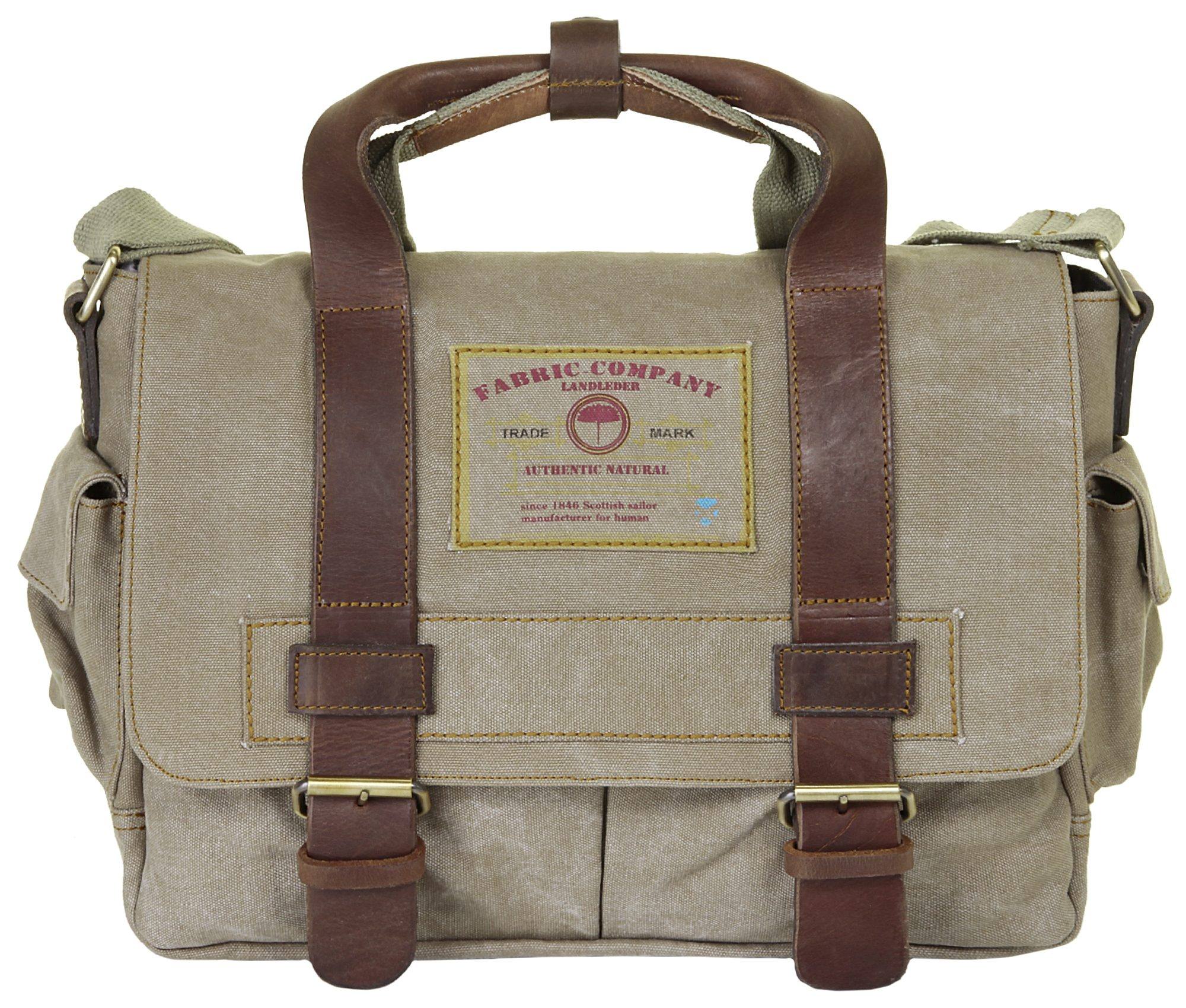 Landleder Canvas Messengerbag