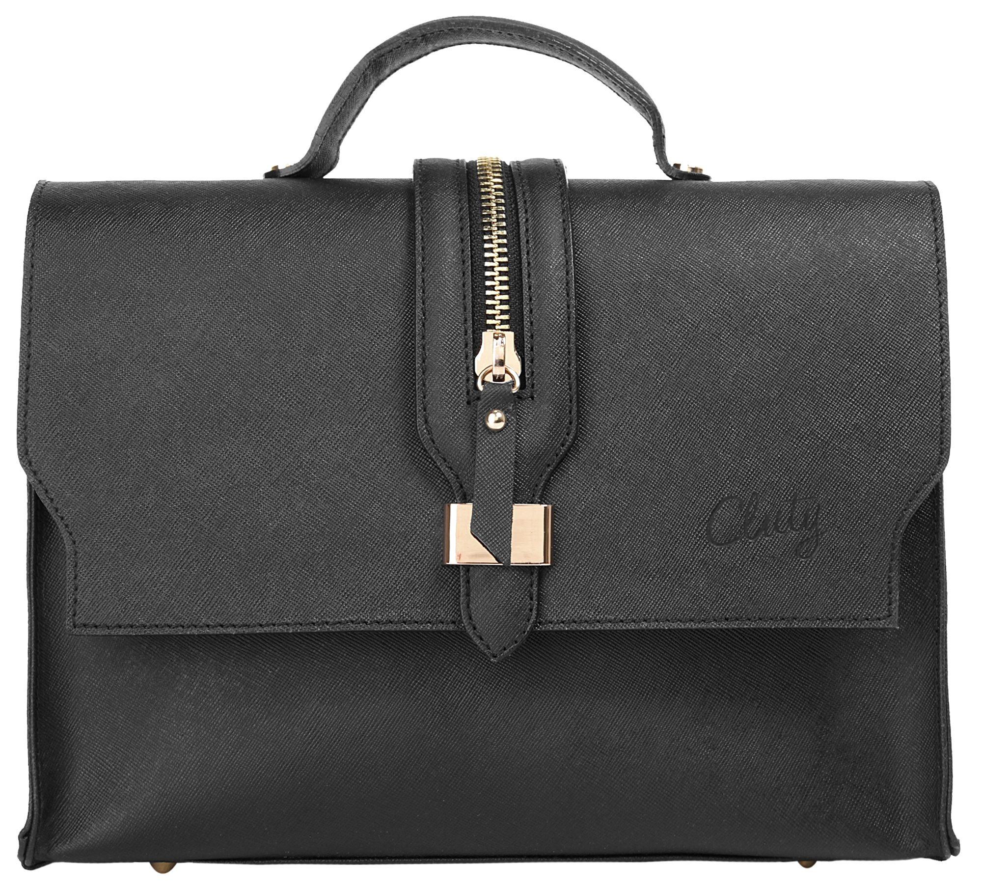 Cluty Leder Damen Handtasche »Manoni«
