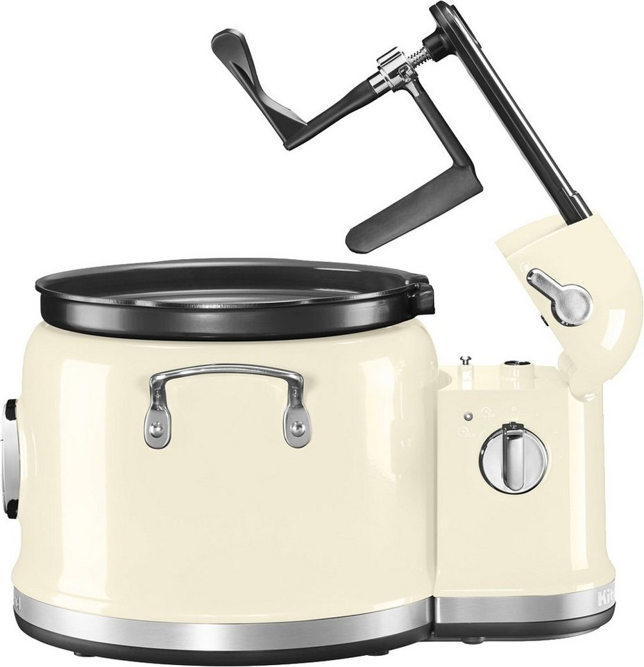 KitchenAid Multi-Cooker mit Rührturm 5KMC4244EAC, 750 Watt, crème in creme