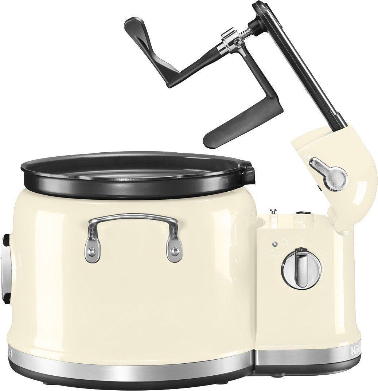 KitchenAid Multi-Cooker mit Rührturm 5KMC4244EAC, 750 Watt, crème