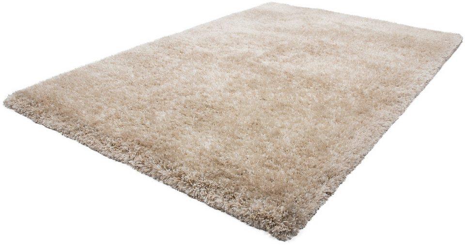 Hochflor-Teppich, Obsession, »Precious 676«, Höhe 55 mm, handgearbeitet in Sand