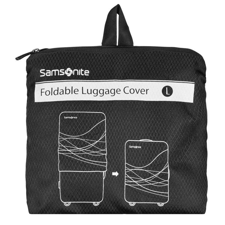 Samsonite Samsonite Travel Accessories Kofferhülle Trolley Hülle L 75-85 in black