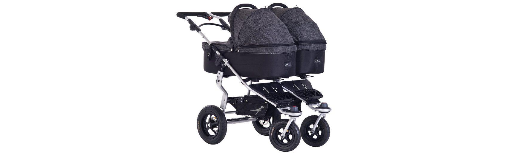 TFK Kinderwagenaufsatz für Twinner Twist Duo, Premium, anthrazit