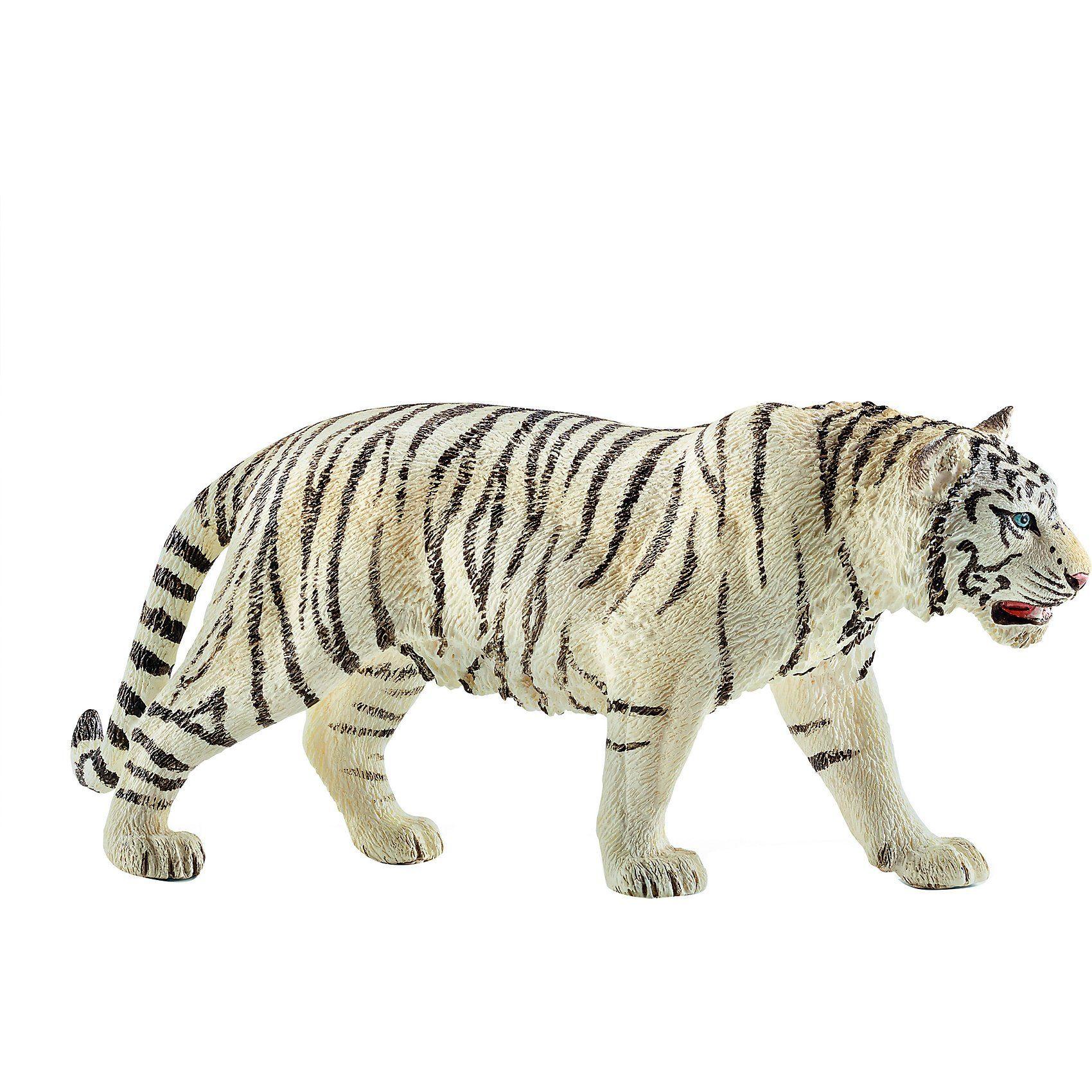 Schleich 14731 Wild Life: Tiger, wei