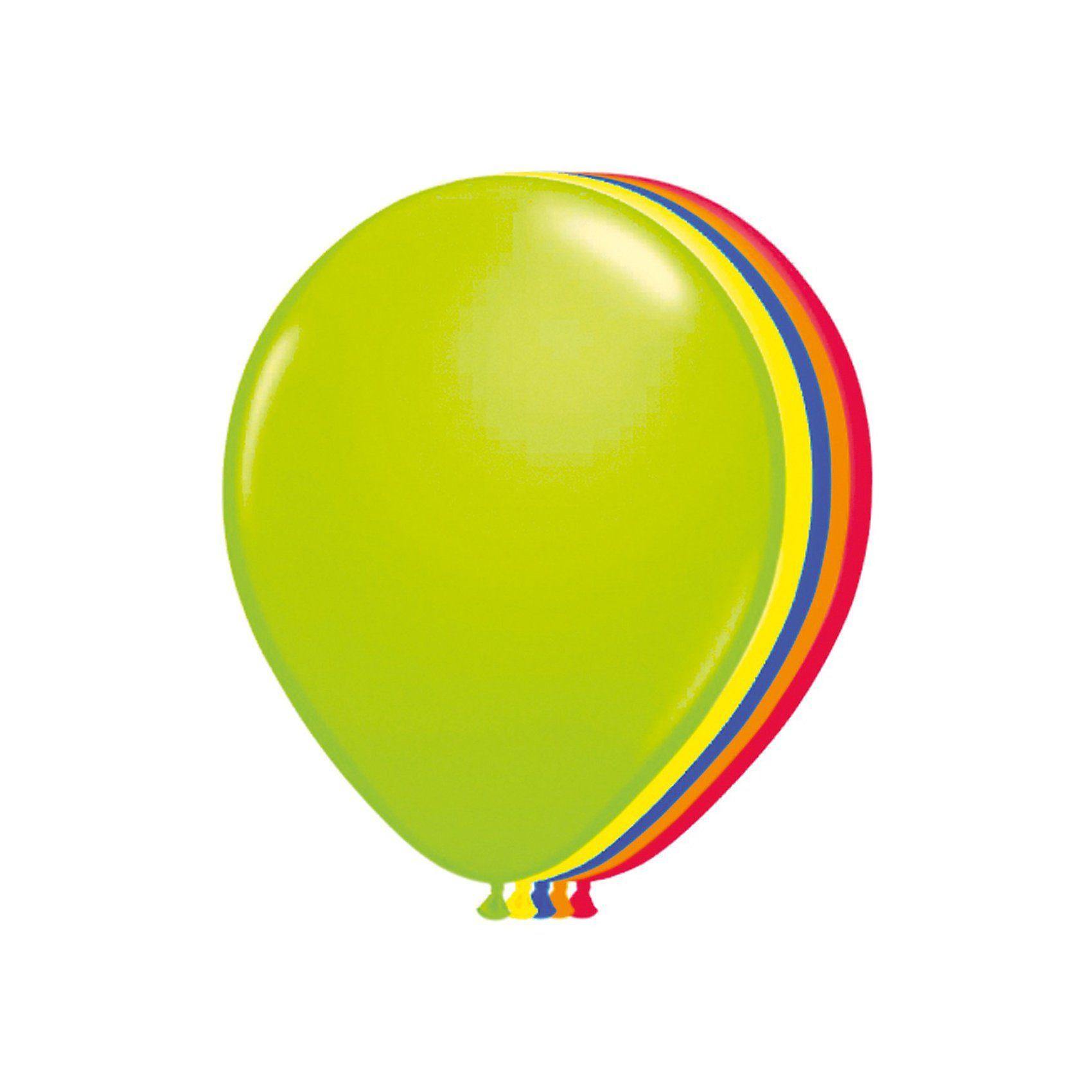 Folat Luftballons Neon, 50 Stück