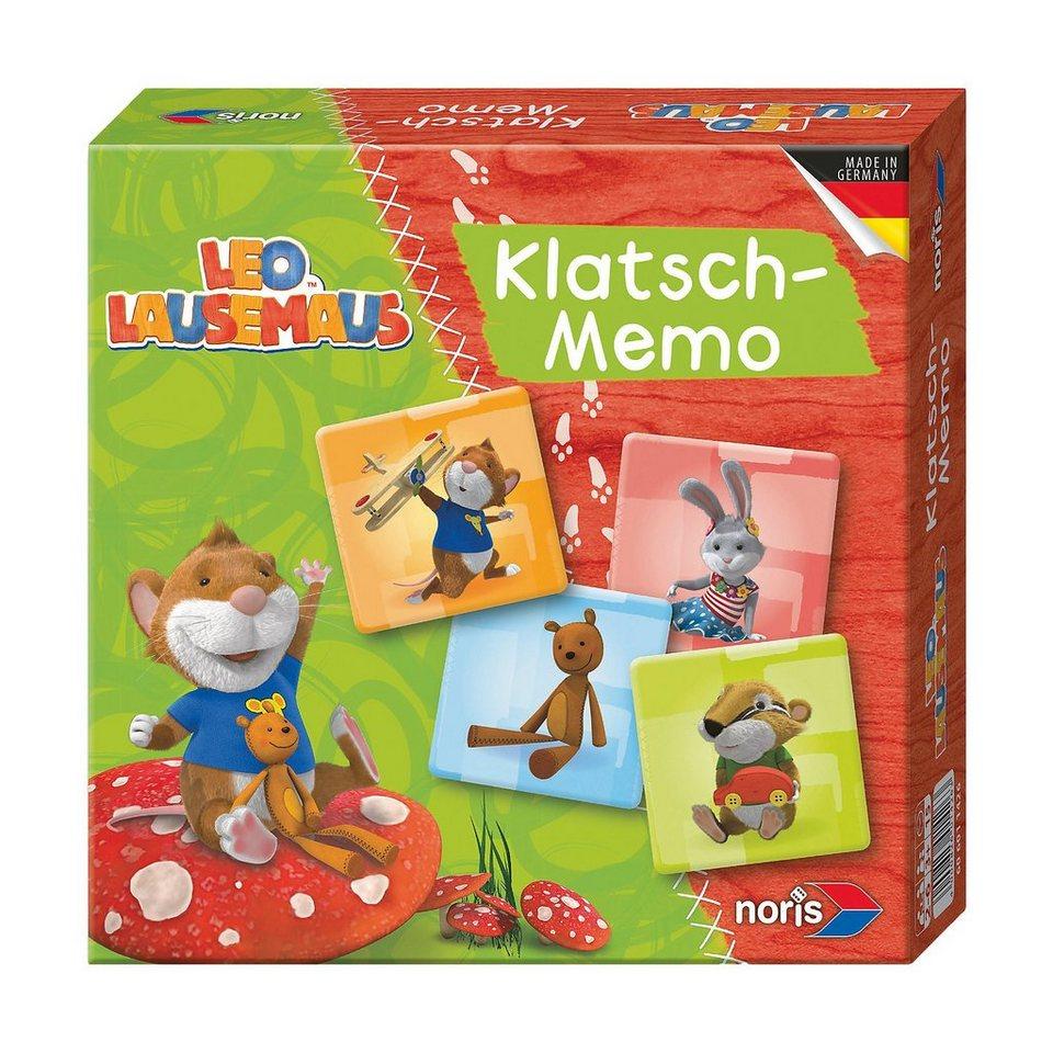 Noris Leo Lausemaus Klatsch-Memo