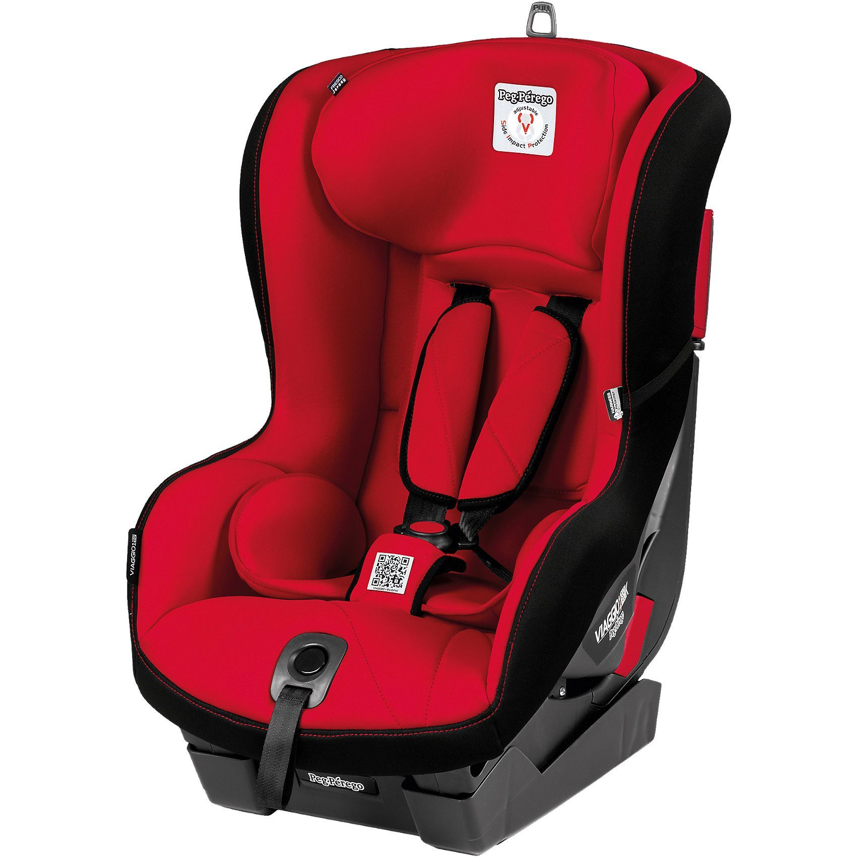 Peg Perego Auto-Kindersitz Viaggio1 Duo-Fix K, Rouge, 2015